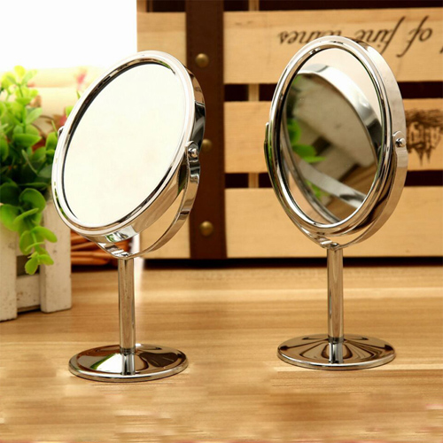 Двойное зеркало на ножке